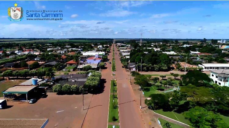 Santa Carmem Mato Grosso fonte: www.santacarmem.mt.gov.br